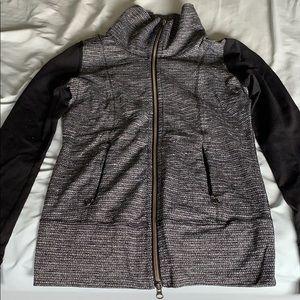 Lululemon Daily Yoga Jacket Coco Pique size 2